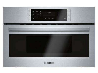 """30"""" Bosch 800 Series Speed Microwave Oven In Stainless Steel - HMC80252UC"""