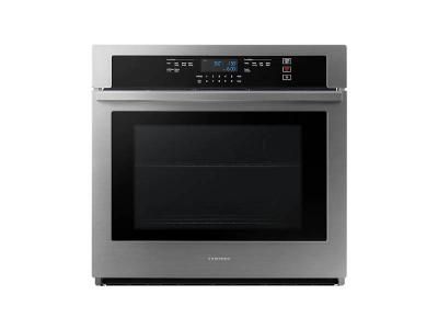 """30"""" Samsung 5.1 Cu. Ft. Wall Oven with Wi-Fi Connectivity in Stainless Steel - NV51T5512SS"""