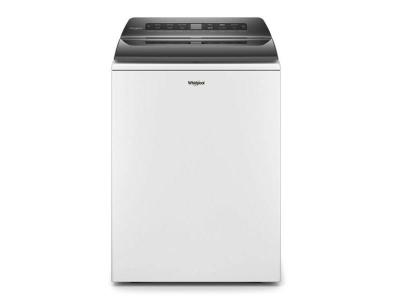 """27"""" Whirlpool 5.4 Cu. Ft. Top Load Washer With Pretreat Station In White - WTW5105HW"""