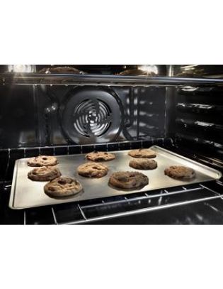 """30"""" Whirlpool 5.0 Cu. Ft. Smart Single Wall Oven With True Convection Cooking - WOS72EC0HV"""