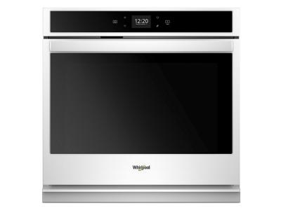 """27"""" Whirlpool 4.3 Cu. Ft. Smart Single Wall Oven With Touchscreen - WOS51EC7HW"""