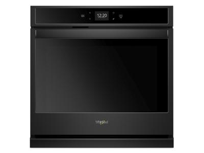 """27"""" Whirlpool 4.3 Cu. Ft. Smart Single Wall Oven With Touchscreen - WOS51EC7HB"""