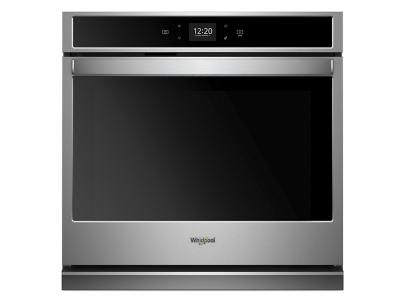 """27"""" Whirlpool 4.3 Cu. Ft. Smart Single Wall Oven With Touchscreen - WOS51EC7HS"""