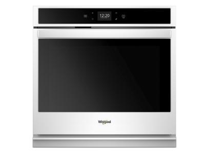 """30"""" Whirlpool 5.0 Cu. Ft. Smart Single Wall Oven With Touchscreen - WOS51EC0HW"""