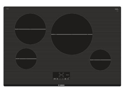 """31"""" Bosch 500 Series Induction Cooktop Black - NIT5068UC"""