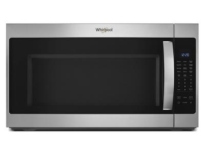 """30"""" Whirlpool 2.1 Cu. Ft. Over the Range Microwave With Steam cooking - YWMH53521HZ"""
