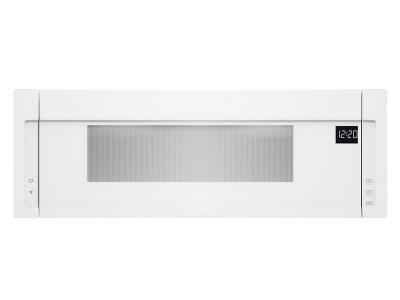 "30"" Whirlpool 1.1 Cu. Ft. Low Profile Microwave Hood Combination - YWML55011HW"