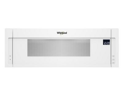 "30"" Whirlpool 1.1 Cu. Ft. Low Profile Microwave Hood Combination - YWML75011HW"