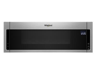 "30"" Whirlpool 1.1 Cu. Ft. Low Profile Microwave Hood Combination - YWML75011HZ"