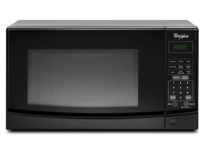 """18"""" Whirlpool 0.7 Cu. Ft. Countertop Microwave With Electronic Touch Controls - WMC10007AB"""