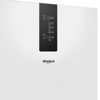 """24"""" Whirlpool 12.9 Cu. Ft. Wide Bottom Freezer Refrigerator In White - WRB533CZJW"""