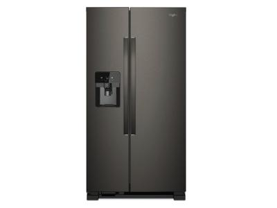 """33"""" Whirlpool 21 Cu. Ft. Side-by-Side Refrigerator - WRS321SDHV"""