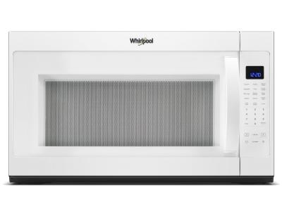 """30"""" Whirlpool 2.1 Cu. Ft. Over the Range Microwave With Steam Cooking In White - YWMH53521HW"""