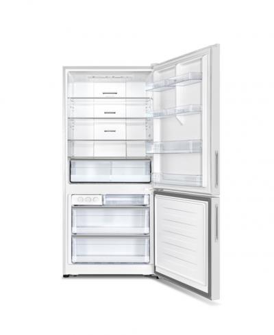 "31"" Avantgarde 2 Doors 17 cu ft. Bottom Mount Refrigerator in White -  ARBM172WE"