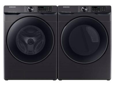 """27"""" Samsung 5.8 Cu.Ft. Smart Front Load Washer And Smart Electric Dryer - WF50T8500AV-DVE50R8500V"""