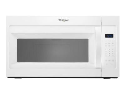 """30"""" Whirlpool 1.7 Cu. Ft. Microwave Hood Combination With Electronic Touch Controls - YWMH31017HW"""