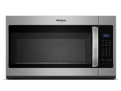 """30"""" Whirlpool 1.7 Cu. Ft. Microwave Hood Combination With Electronic Touch Controls - WMH31017HS"""