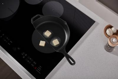 """30"""" Whirlpool Induction Cooktop In Black - WCI55US0JB"""