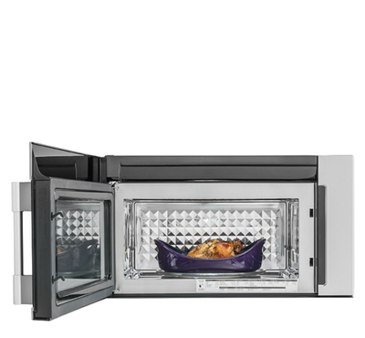 """30"""" Frigidaire Professional 1.8 Cu. Ft. 2-in-1 Over-The-Range Convection Microwave - CPBM3077RF"""