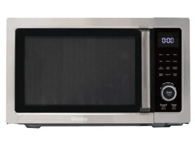 """21"""" Danby 1.0 Cu. Ft. 5 in 1 Multifunctional Microwave Oven With Air Fry - DDMW1060BSS-6"""