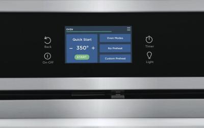 """30"""" Frigidaire Gallery 5.3 Cu. Ft. Single Electric Wall Oven with Total Convection - GCWS3067AF"""