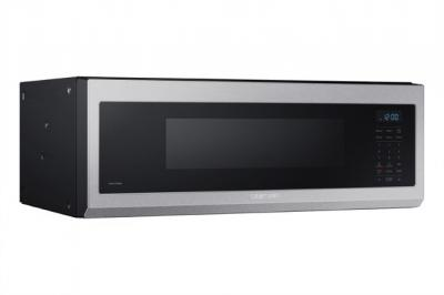 """30"""" Samsung 1.1 Cu. Ft. Capacity Low Profile Over the Range Microwave - ME11A7510DS/AC"""