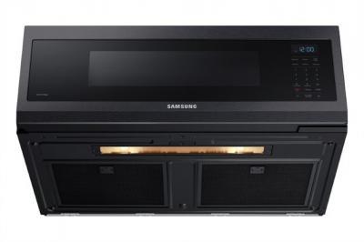 "30"" Samsung 1.1 Cu. Ft. Low Profile Over the Range Microwave - ME11A7510DG/AC"