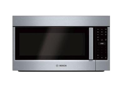 """30"""" Bosch 2.1 Cu. Ft. 500 Series Over-the-Range Microwave In Stainless Steel - HMV5053C"""