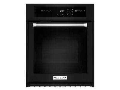 """30"""" KitchenAid 5.0 Cu. Ft. Single Wall Oven With Even-Heat True Convection - KOSE500EBL"""