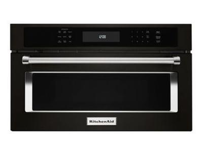 """30"""" KitchenAid 1.4 Cu. Ft. Built In Microwave Oven With Convection Cooking - KMBP100EBS"""