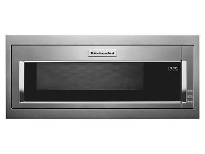 "30"" KitchenAid 1.1 Cu. Ft. Built In Microwave With Slim Trim Kit In Stainless Steel - YKMBT5011KS"