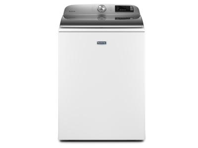"""27"""" Maytag 5.4 Cu. Ft. Top Load Washer With Stainless Steel Drum - MVW6230HW"""