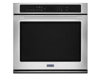 """27"""" Maytag 4.3 Cu. Ft. Single Wall Oven With True Convection - MEW9527FZ"""