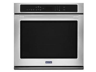 """30"""" Maytag 5.0 Cu. Ft. Single Wall Oven With True Convection - MEW9530FZ"""