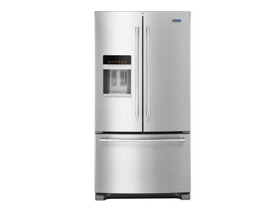 """36"""" Maytag 25 Cu. Ft. French Door Refrigerator With PowerCold - MFI2570FEZ"""