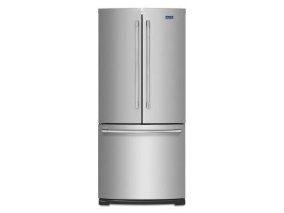 """30"""" Maytag 19.6 Cu. Ft. French Door Refrigerator -MFB2055FRZ"""
