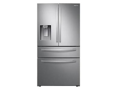 """36"""" Samsung 22.6 Cu. Ft. Counter Depth French Door With Twin Cooling Plus In Stainless Steel - RF24R7201SR"""