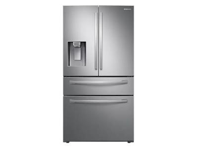 """36"""" Samsung 28 Cu. Ft. French Door With Twin Cooling Plus In Stainless Steel - RF28R7201SR"""
