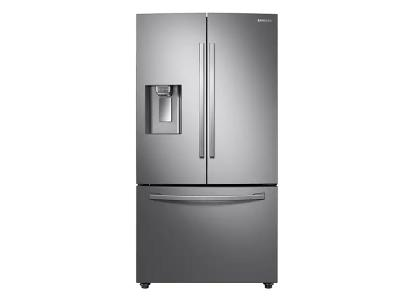 """36"""" Samsung 28 Cu. Ft. French Door Refrigerator With Twin Cooling Plus In Stainless Steel - RF28R6201SR"""